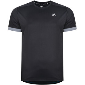Dare 2b Unifier Camiseta Hombre, black/gravity grey